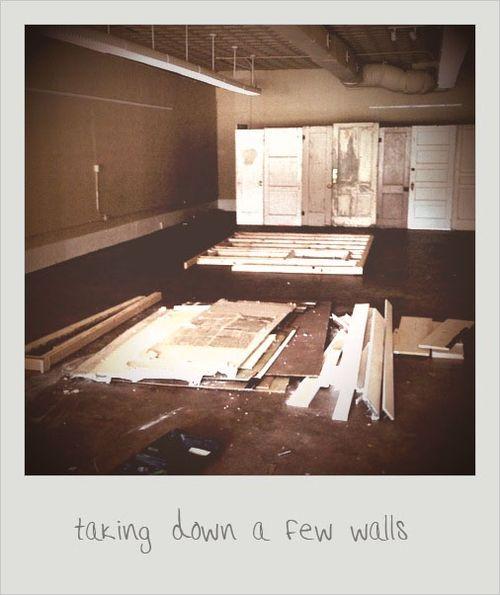Taking down a few wallls