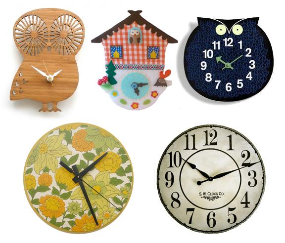 Clocks copy