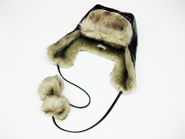 Faux fur hat 001